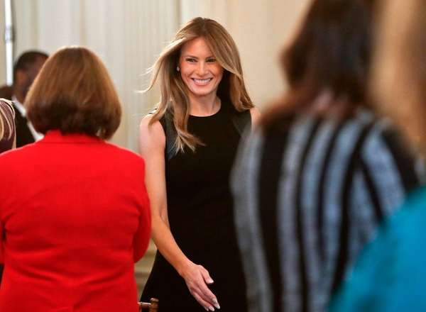 Melania Moving to WH in June, Picks Barron's School