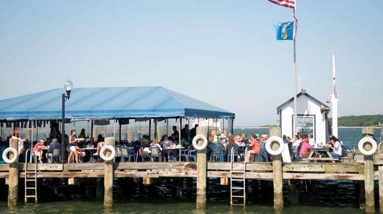 Claudio's in Greenport, Long Island's oldest family-owned restaurant,