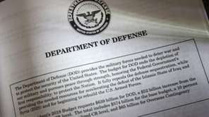 Proposals for the Defense Department in President Donald