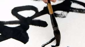 Calligraphy is among the classes celebrating Chinese and