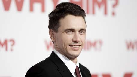 James Franco attends the world premiere of