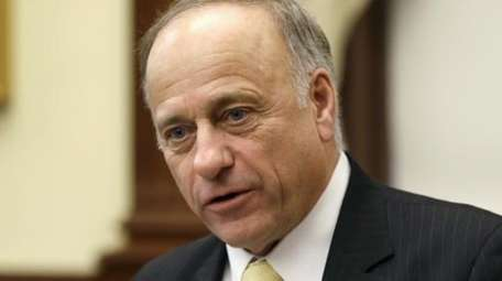 U.S. Rep. Steve King (R.-Iowa) speaks in Des