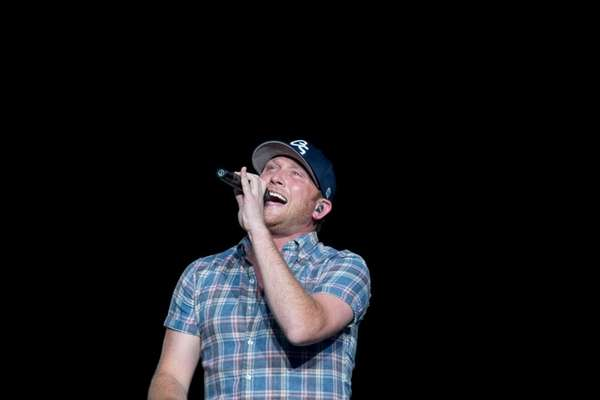 Country star Cole Swindell performs at Jones Beach.