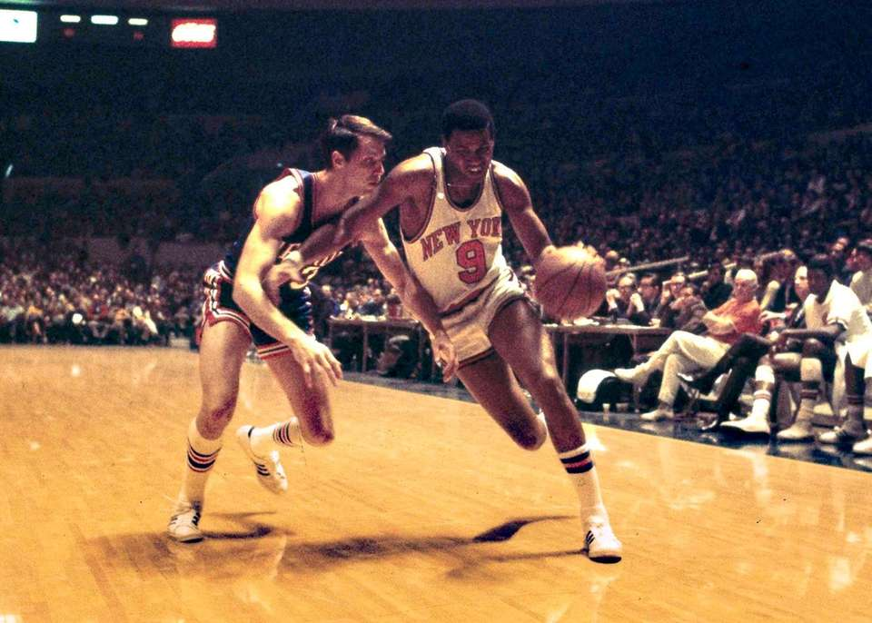 Former Knick Dave Stallworth, who played a key