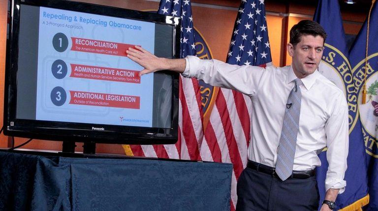 House Speaker Paul Ryan makes his case for