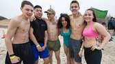 Future U.S. Marines, called Poolies, from Hicksville, stay