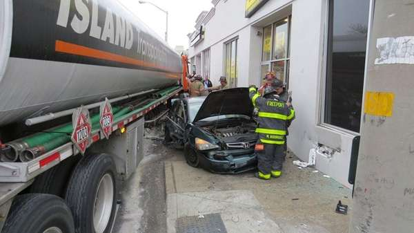 The Freeport Fire Department responded to an accident