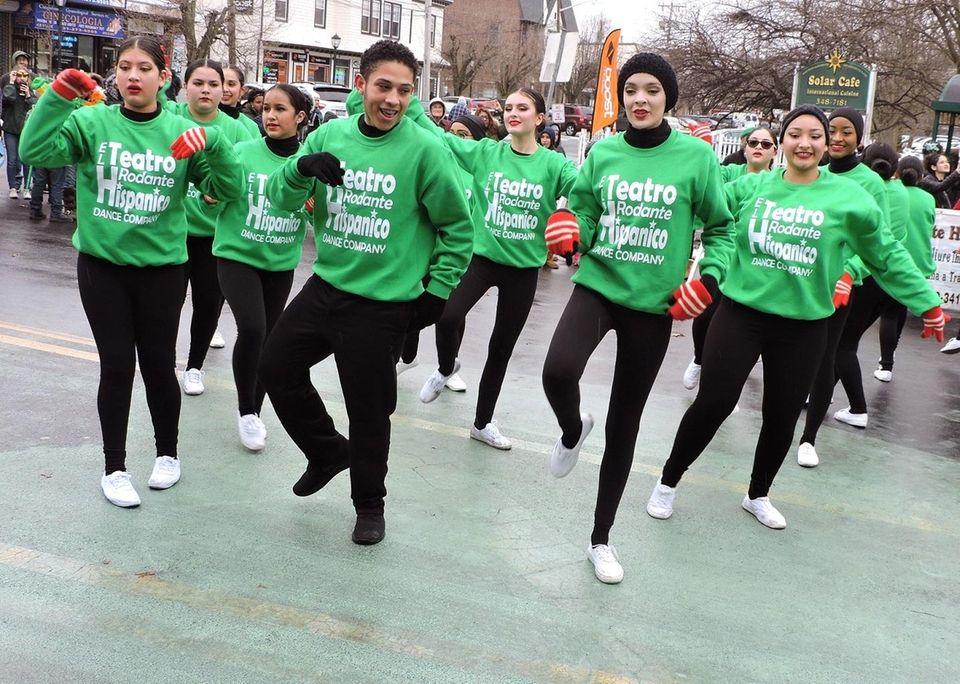 El Teatro Rodante Hispanico dance company performs at