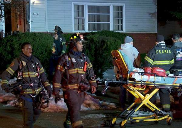 Police and firefighters respond to a carbon monoxide