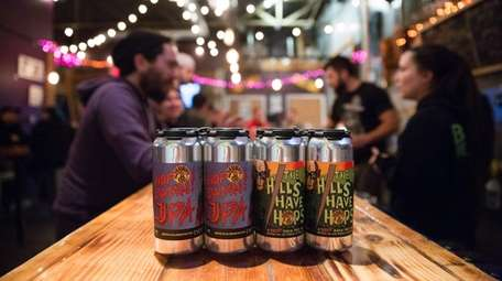 A new trend of small breweries releases small