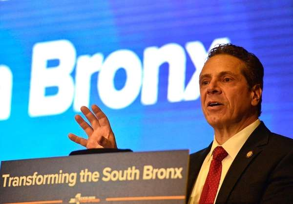New York Governor Andrew M. Cuomo announces a