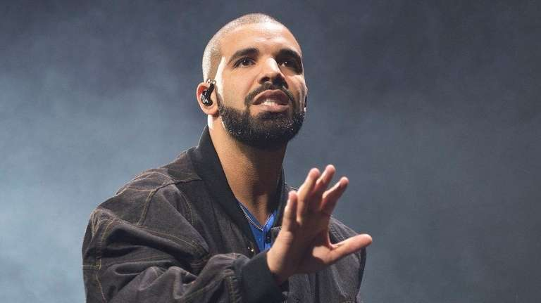 Drake performs on stage in Toronto, Canada, on