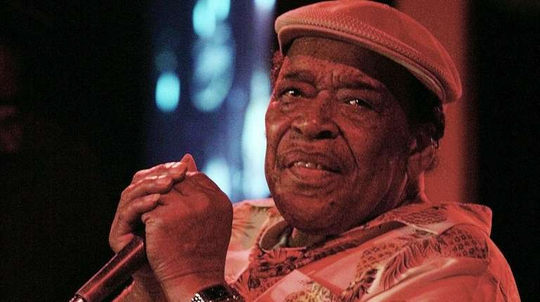 Legendary blues man James Cotton performs at the