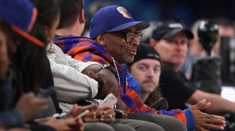Spike Lee attends the 2017 BBVA Compass Rising