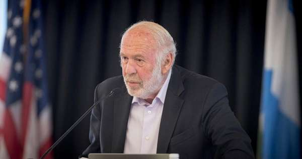 James Simons, founder of Renaissance Technologies and seen