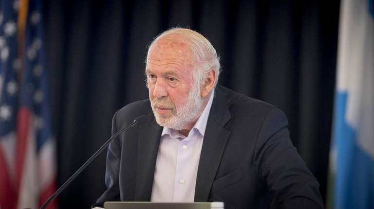 James Simons, founder of Renaissance Technologies and seen