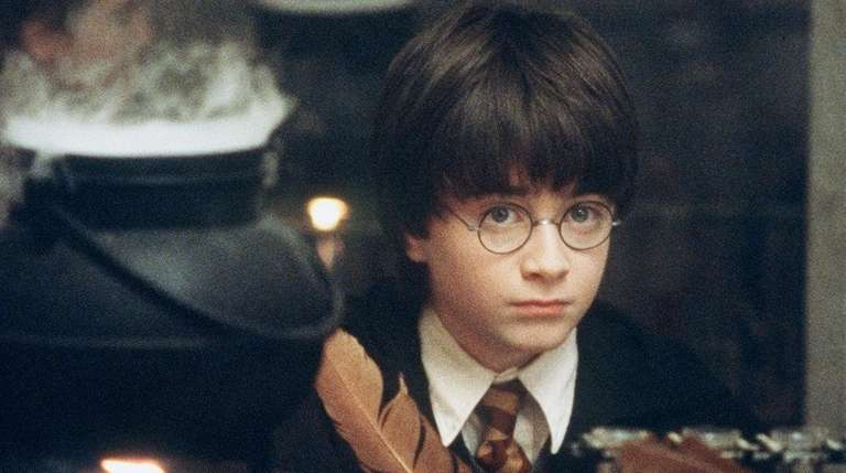 A much younger Daniel Radcliffe in the title