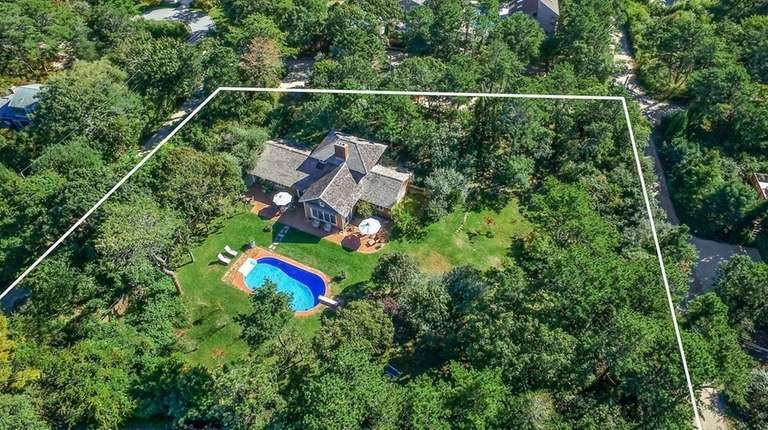 Set on nearly three-quarters of an acre, this