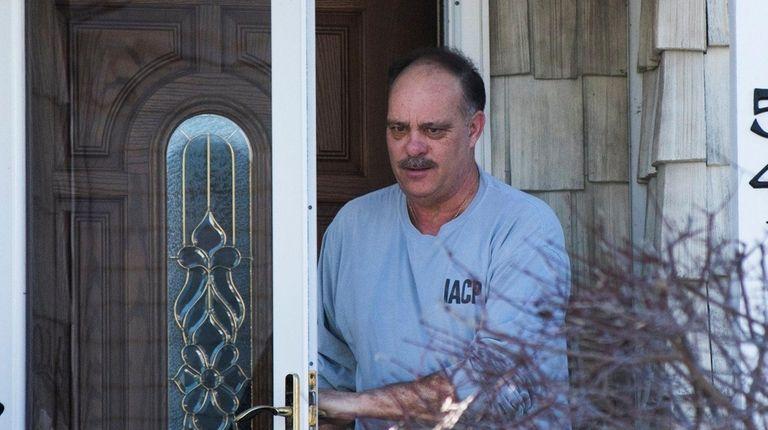 Former Loyd Harbor Police Chief Charles Flynn answers