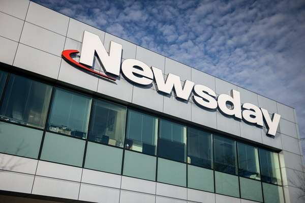 Newsday headquarters in Melville, Friday, Feb. 24, 2017.