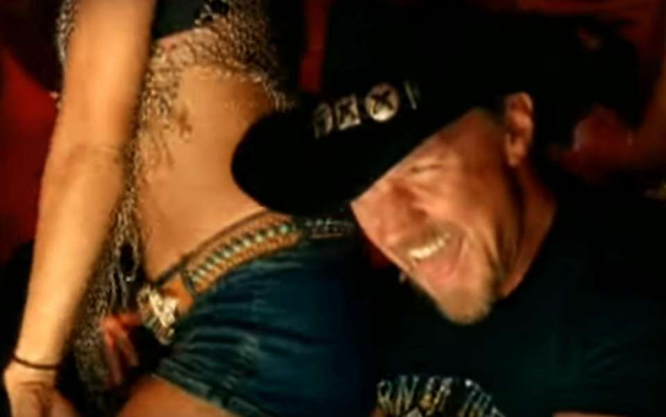 Trace Adkins put out the single