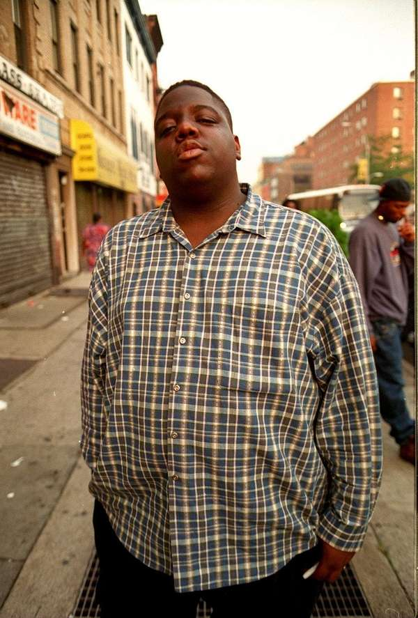 The Notorious B.I.G. (real name: Christopher Wallace), will