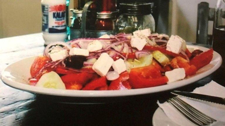 Meze in Shoreham specializes in Greek cuisine,