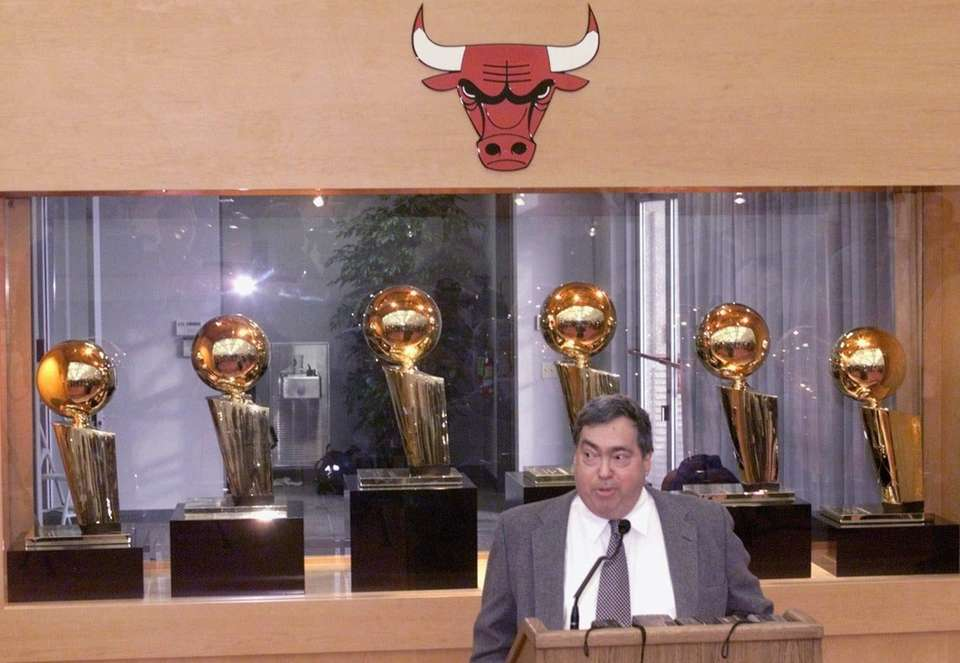 The Bulls' general manager that led them to