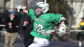 Farmingdale's Kyle Tucker celebrates his goal during a