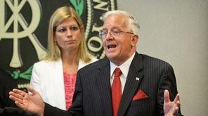 Suffolk County Comptroller John M. Kennedy Jr., joined