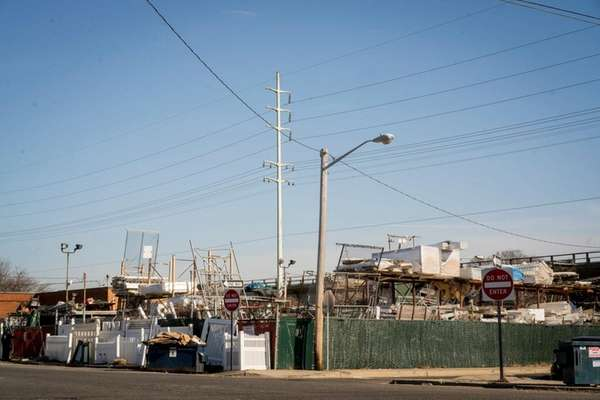 Marconi Boulevard in Copiague, seen on March 21,