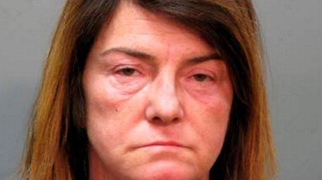 Desiree Doliber, 50, of Farmingdale, was arrested in