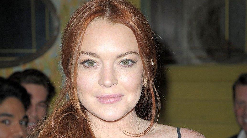 Lindsay Lohan attends Love X Fashion X Art