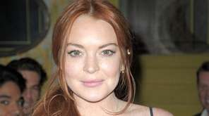 Lindsay Lohan attends Love X Fashion X Art