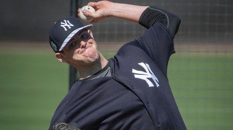 New York Yankees' Jordan Montgomery will start Thursday