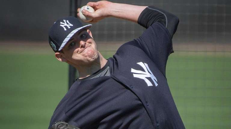 New York Yankees' Jordan Montgomery will start Thursday