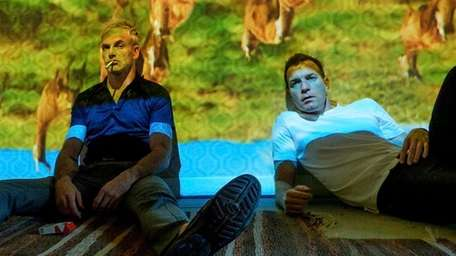 Jonny Lee Miller, left, and Ewan McGregor in