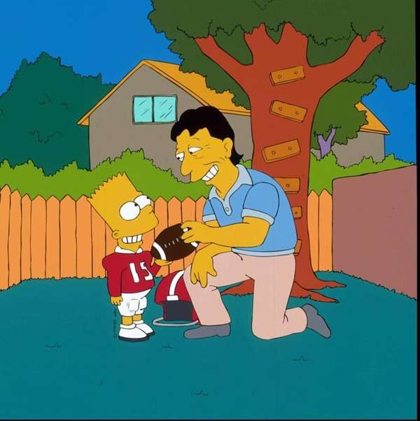 Bart seeks advice from NFL Hall of Famer