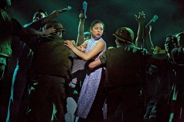 Eva Noblezada as Kim in the revival of