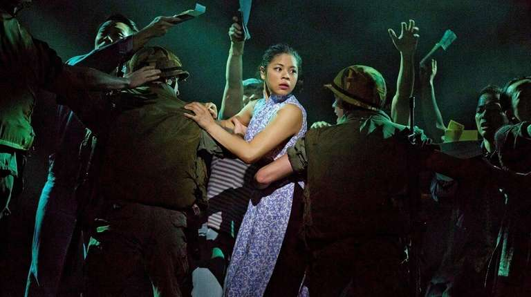Eva Noblezada as Kim in the revival of