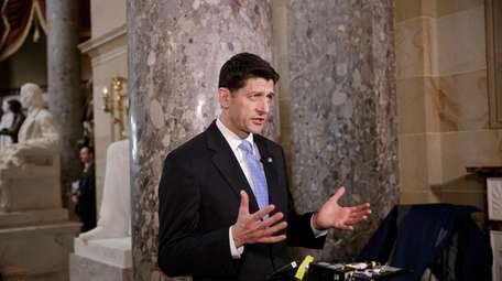 House Speaker Paul Ryan of Wisconsin speaks in