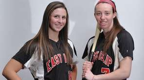 Courtney Greene, left, and Jackie Carty of East