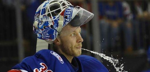 Antti Raanta #32 of the New York Rangers