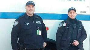 Officials said Port Authority Police Officers Eric Stern,