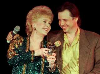 Debbie Reynolds celebrated her 65th birthday with her