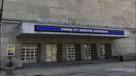 Municipal Auditorium Arena hosted the second, third and