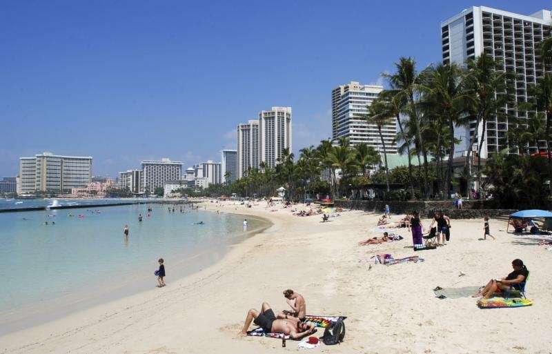 Workers in Honolulu County, Hawaii, which includes the