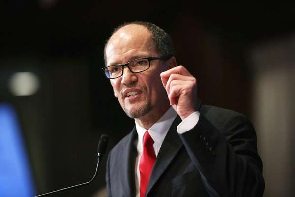 Tom Perez, chairman of the Democratic National Committee,