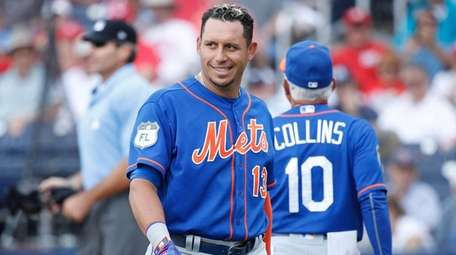Mets' Asdrubal Cabrera after being ejected by home
