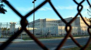 The exterior of the Nassau County Correctional Center